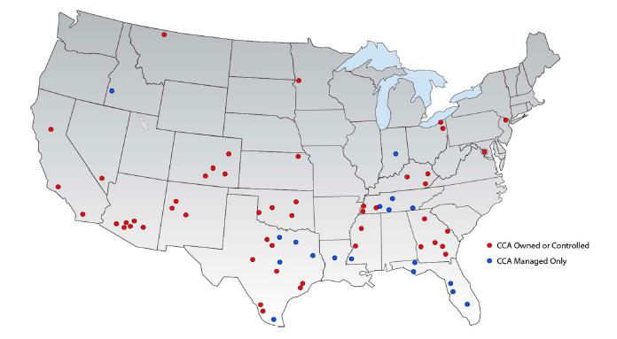 Corrections Corporation of America Prison Divestment Movement