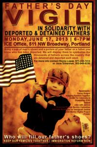 Father's Day Vigil 2013 Portland